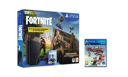Llevarte una PS4 Slim de 500 GB con Fortnite y Frantics, esta semana sólo te cuesta 299 euros en Mediamarkt