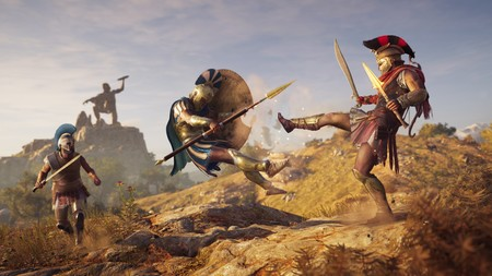 Assassin's Creed Odyssey prepara su lanzamiento con su tráiler más espectacular