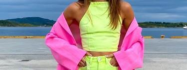 El rosa fucsia se adueña de estos outfits de verano (y también de otoño) perfectos para copiar desde ya mismo