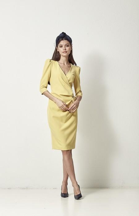 Vestido Lucia Amarillo Coosy