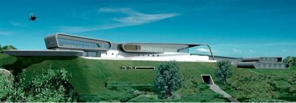 Hingarae, resort futurista en Nueva Zelanda