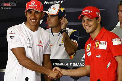Comienza el duelo Hamilton vs Massa en Brasil