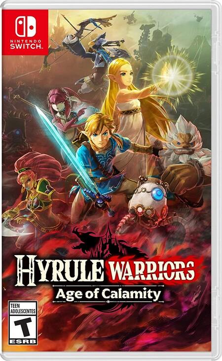 Hyrule Warriors: Age of Calamity de oferta en Amazon México para Nintendo Switch