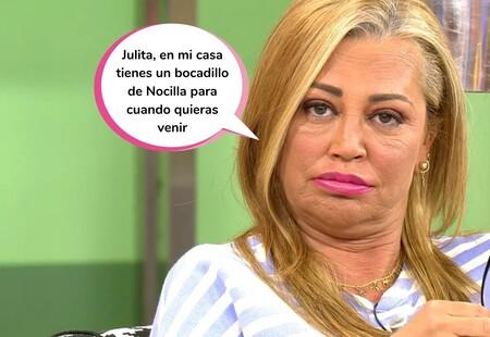 Belén Esteban, harta de rumores, aclara de una vez la verdadera relación entre Andrea y Julia Janeiro