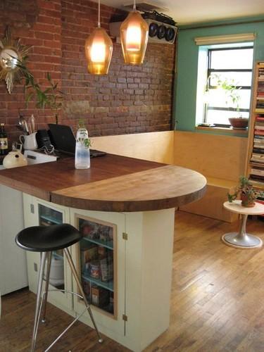 Cocinas pequeñas: muebles multiuso