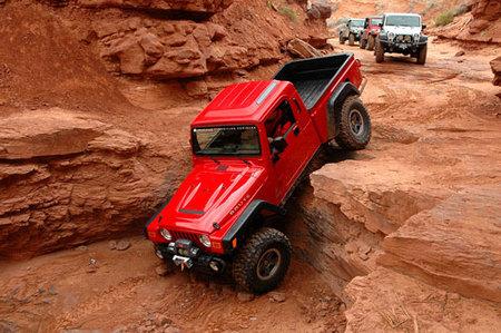 AEV Brute: kit de conversión a pick-up para los Jeep Wrangler TJ