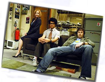 Segunda temporada de IT Crowd en Enero