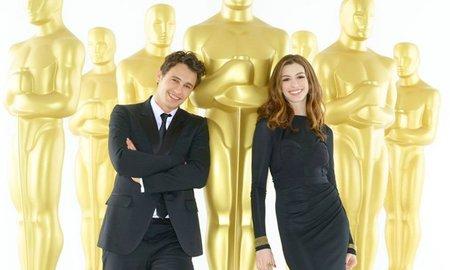 James Franco y Anne Hathaway entrenando para los Oscars, la imagen de la semana