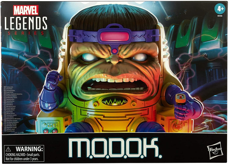 Marvel Hasbro Legends -  M.O.D.O.K. y cuatro accesorios