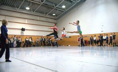 Los bailarines
