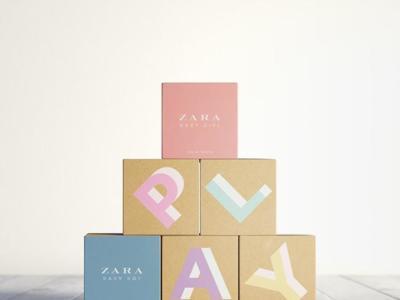 Zara Play, los peques de la casa se perfuman y a la vez se divierten