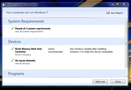 Windows 7 Upgrade Advisor, averigua si Windows 7 funcionará bien en tu PC
