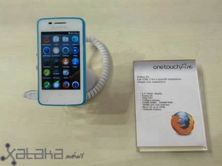 Alcatel One Touch Fire, primeras impresiones