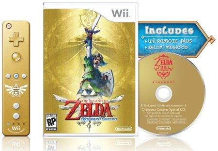 Zelda: Skyward Sword ya tiene su edición especial