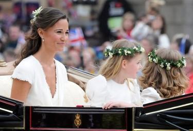Las mejor vestidas de la boda del príncipe Guillermo de Inglaterra y Kate Middleton