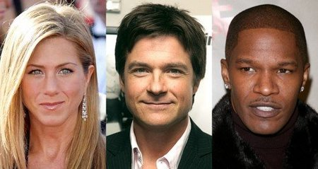 Jennifer Aniston, Jason Bateman y Jamie Foxx junto a Colin Farrell en 'Horrible Bosses'