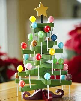 Decoración navideña: el árbol más dulce