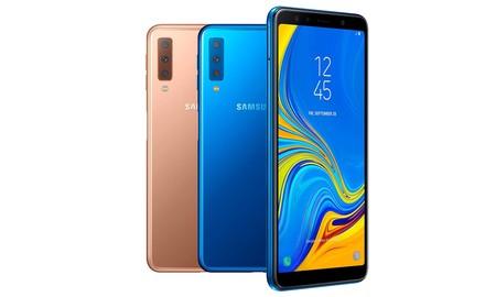 Hoy Amazon tiene el Galaxy A7 de Samsung a precio mínimo en 2 de sus colores, por sólo 219 euros