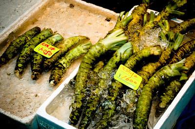 Wasabi. Una raíz japonesa con muy mala leche