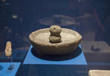 Mortero de Teotihuacan