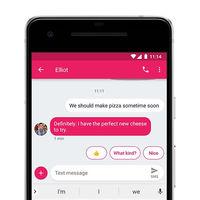 La aplicación Mensajes Android estrena las respuestas inteligentes de Google Allo