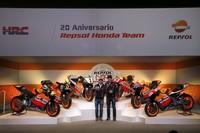20 años del binomio Repsol Honda