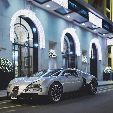 Bugatti Veyron Hotel Four Seasons París