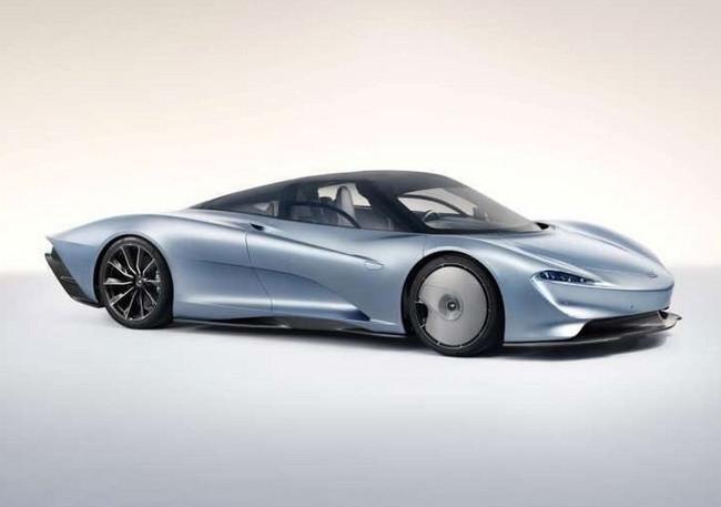 El McLaren Speedtail se deja ver en las primeras imágenes filtradas, horas antes de su presentación