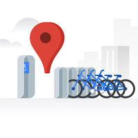 Google Maps estrena información en tiempo real de alquiler de bicicletas en Madrid, Barcelona y 22 ciudades más