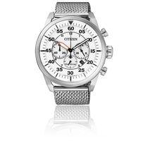 Por 169 euros podemos hacernos con este reloj Citizen para hombre CA4210-59A gracias a Amazon. Envío gratis
