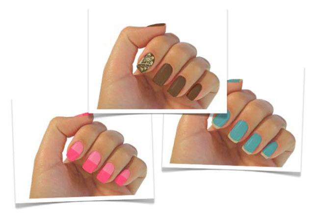 Propuestas maquillaje nail art