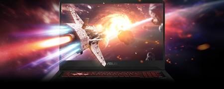 """Asus TUF Gaming de 17"""" con Core i7-8750H, 16GB RAM, 1TB+256GB SSD y GTX1050Ti muy rebajado en El Corte Inglés: 764,15 euros [AGOTADO]"""
