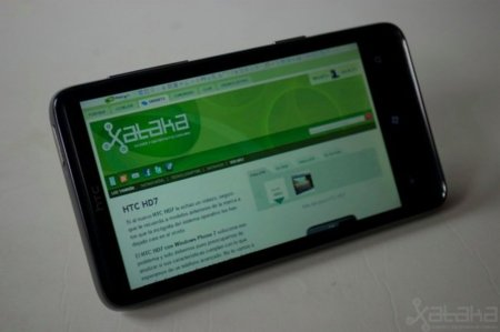 HTC HD7, móvil Windows Phone 7 a análisis (y II)