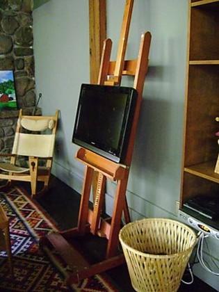 Televisor plano... como un lienzo