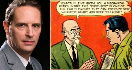 Ralph Lister y su personaje en los cómics