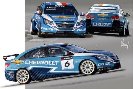 Chevrolet presenta nuevos colores para el WTCC