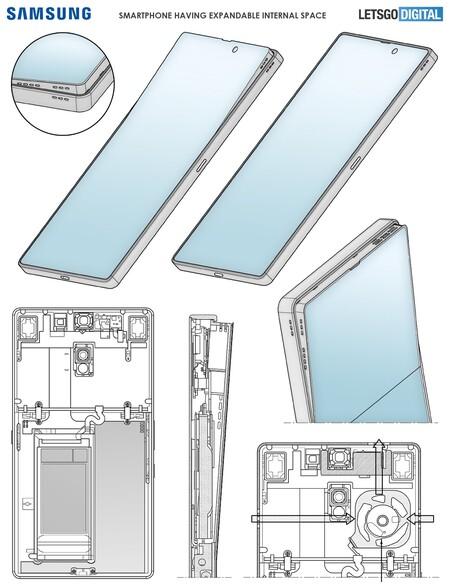 Samsung Patente Smartphone Sale Marco Altavoces Caja Resonancia Mejor Sonido