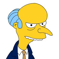 """El señor Burns, segundo """"hombre"""" más rico del mundo"""