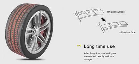 Neumáticos Discolor Tyre ¿Tecnología aplicable a las motos?