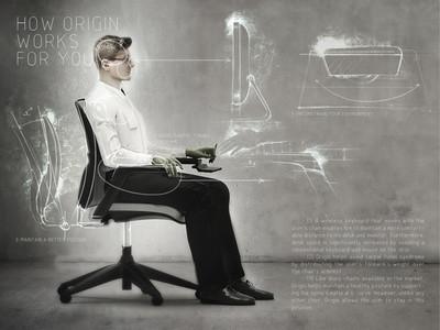 Origin, la silla de oficina definitiva