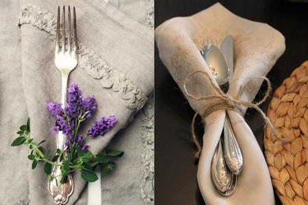 Sencillas y originales ideas para poner la mesa a tus for Vajilla moderna barata