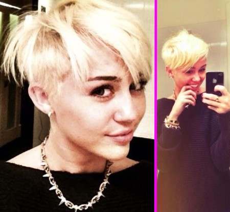 ¡Miley Cyrus se corta la melena! De amarillo pollo a pollito a secas