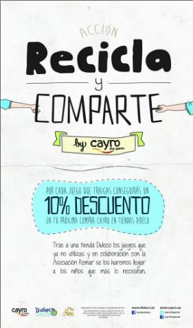 Recicla y comparte by Cayro