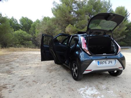 Puertas Prueba Toyota Aygo Exteriores