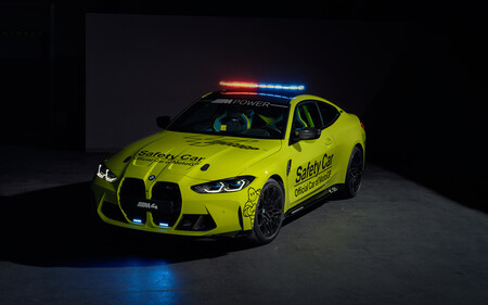 BMW M4 Competition Coupe Safety Car Moto GP 2021