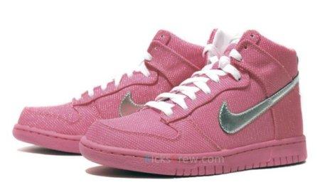 Nuevas Nike WMNS Dunk High Premium en rosa chicle