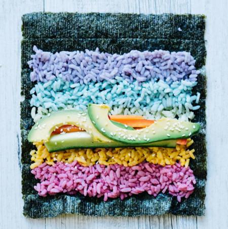 Rainbow Sushi 5