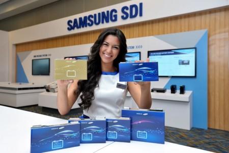 Samsung presenta sus nuevas baterías en Detroit prometiendo un aumento en la autonomía de hasta el 30%