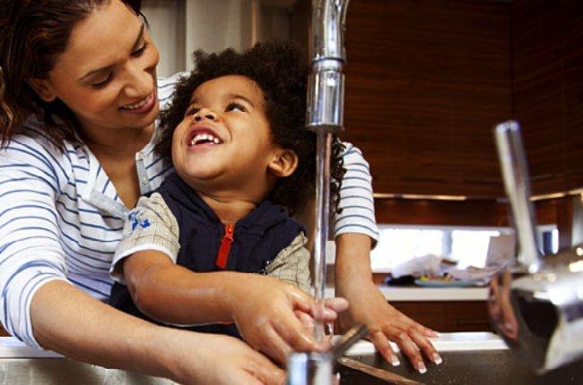 higiene de los niños