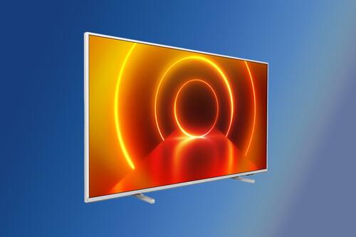 """La Smart TV 4K Philips 50PUS7855/12 2020 de 50"""" con Ambilight está rebajada a menos de 400 euros en El Corte Inglés"""